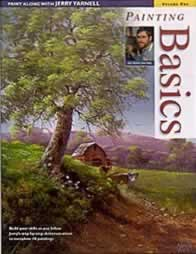 Painting Basics Jerry Yarnell Volume One - Front Cover